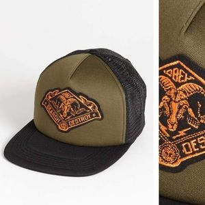 Obey search and destroy trucker